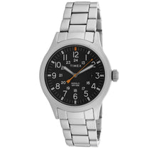 Men's Silver Allied Stainless Steel Analogue Timex Watch TW2R46600