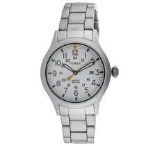 Men's Silver Allied Stainless Steel Analogue Timex Watch TW2R46700