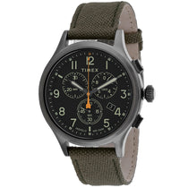Men's Brown Allied Leather Analogue Timex Watch TW2R47200