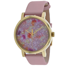 Ladies Pink Metroline Leather Analogue Timex Watch TW2R66300