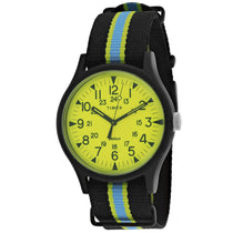 Men's Aluminum Nylon Analogue Timex Watch TW2T25700