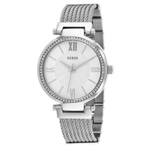 Ladies Silver Soho Stainless Steel Analogue Guess Watch W0638L1