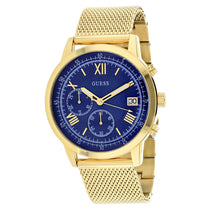 Men's Gold Summit Stainless Steel Analogue Guess Watch W1112G2