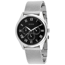 Men's Silver Classic Stainless Steel Analogue Guess Watch W1129G1
