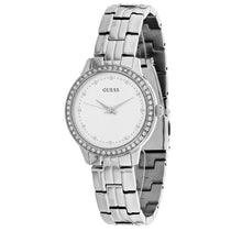 Ladies Silver Chelsea Stainless Steel Analogue Guess Watch W1209L1