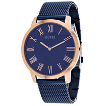 Men's Blue Henry London Stainless Steel Analogue Guess Watch W1263G4