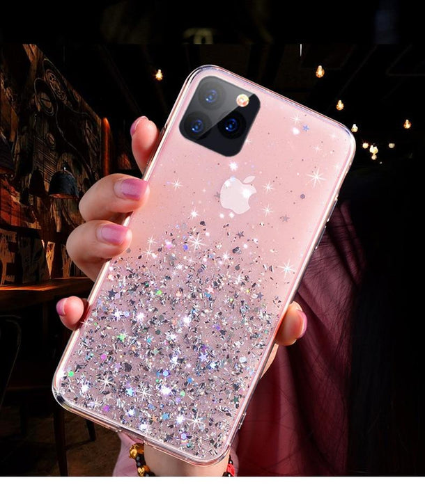 Liquid Bling Glitter Luxury Lovely Silicone Case for Iphone - Joy Shop