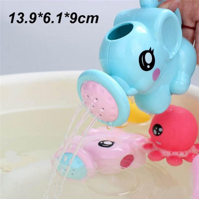 Bath Toys for Kids and Babies Cute Duck Penguin Egg Water - Joy Shop