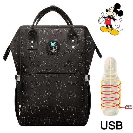 Disney Mummy Bag Large Capacity Nursing Travel Backpack - Joy Shop