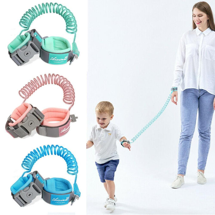 Baby Safety Kid Anti Lost Wrist Harness Leash Traction Rope Band - Joy Shop