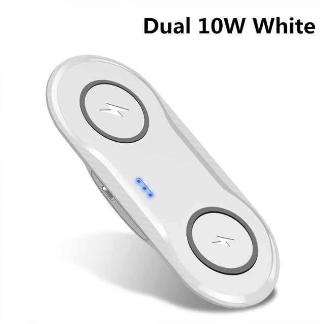 Super comfortable Double Qi Wireless Charger