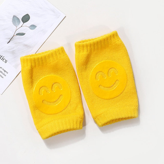 Smile Knee Pads Protector Safety Kneepad Leg Warmer Infant Baby Girls Boys