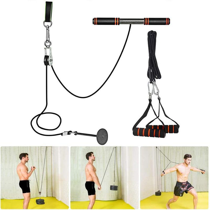 Fitness DIY Pulley Cable Machine Attachment System - Joy Shop