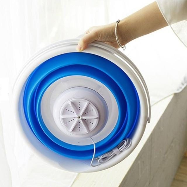 Mini Portable Ultrasonic Laundry Clothes Washer for Home Travel - Joy Shop