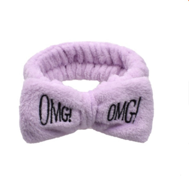 OMG Letter Hairbands For Women