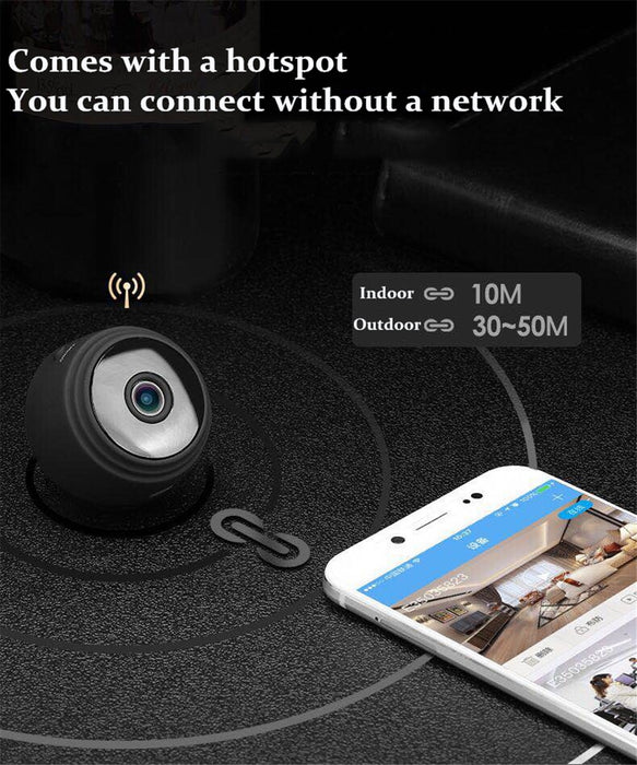 NEWEST  WiFi Mini Camera IP Indoor/Outdoor DV Home Security/Night Vision