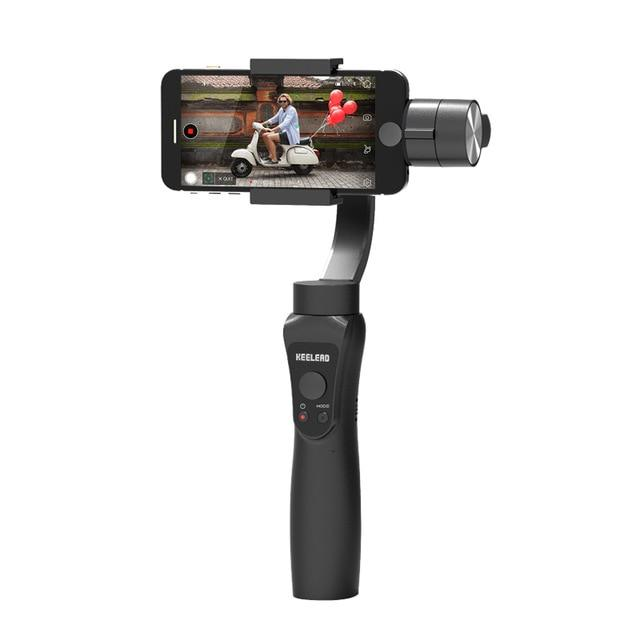 Smart New 3 Axis Handheld Gimbal Stabilizer with Focus Pull and Zoom for Phone Xs Max Xr X 8 Plus 7 6 SE Action Camera - Joy Shop