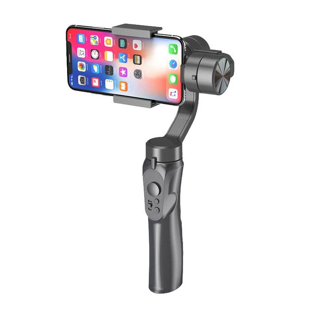 2020 Handheld Gimbal Universal Adjustable Direction Smartphone Stabilizer with Stand