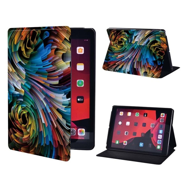 Apple IPad Mini 1/2/3/4/5/iPad 2/3/4/iPad 5th/6th/7th/iPad Air / Air 2//3/iPad Pro Tablet Stand Heavy Duty Protective Case