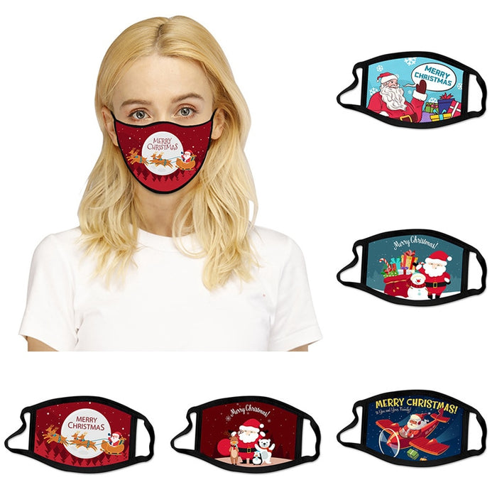 Stay Safe Christmas Mask Happy New Year 2021