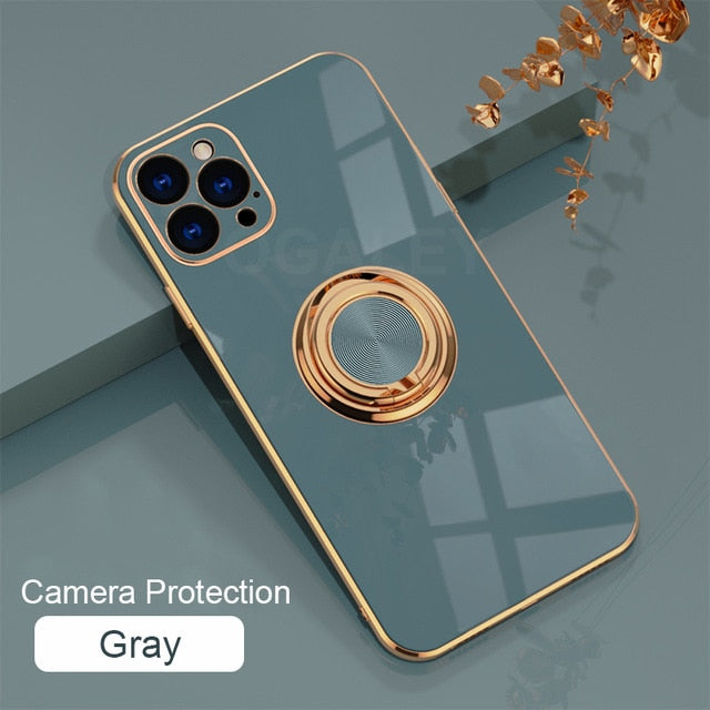 Original Case For iPhone 12 Pro 11 Pro Max luxury Plating Phone Case for iphone11 Max