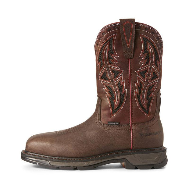 Men's Leather Western Work Boots