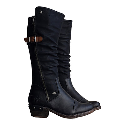 Women'S Fashion Side Zipper Boots