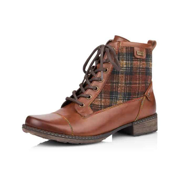 Women's Retro Casual Lace-Up Martin Boots
