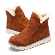Women's Fur Lining Ankle Snow Boots
