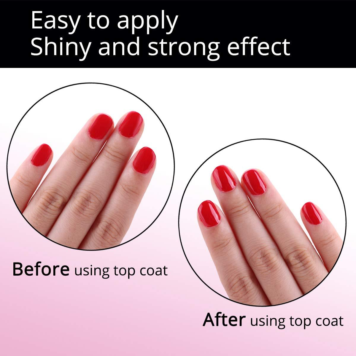 2 Pieces No Wipe Top Coat