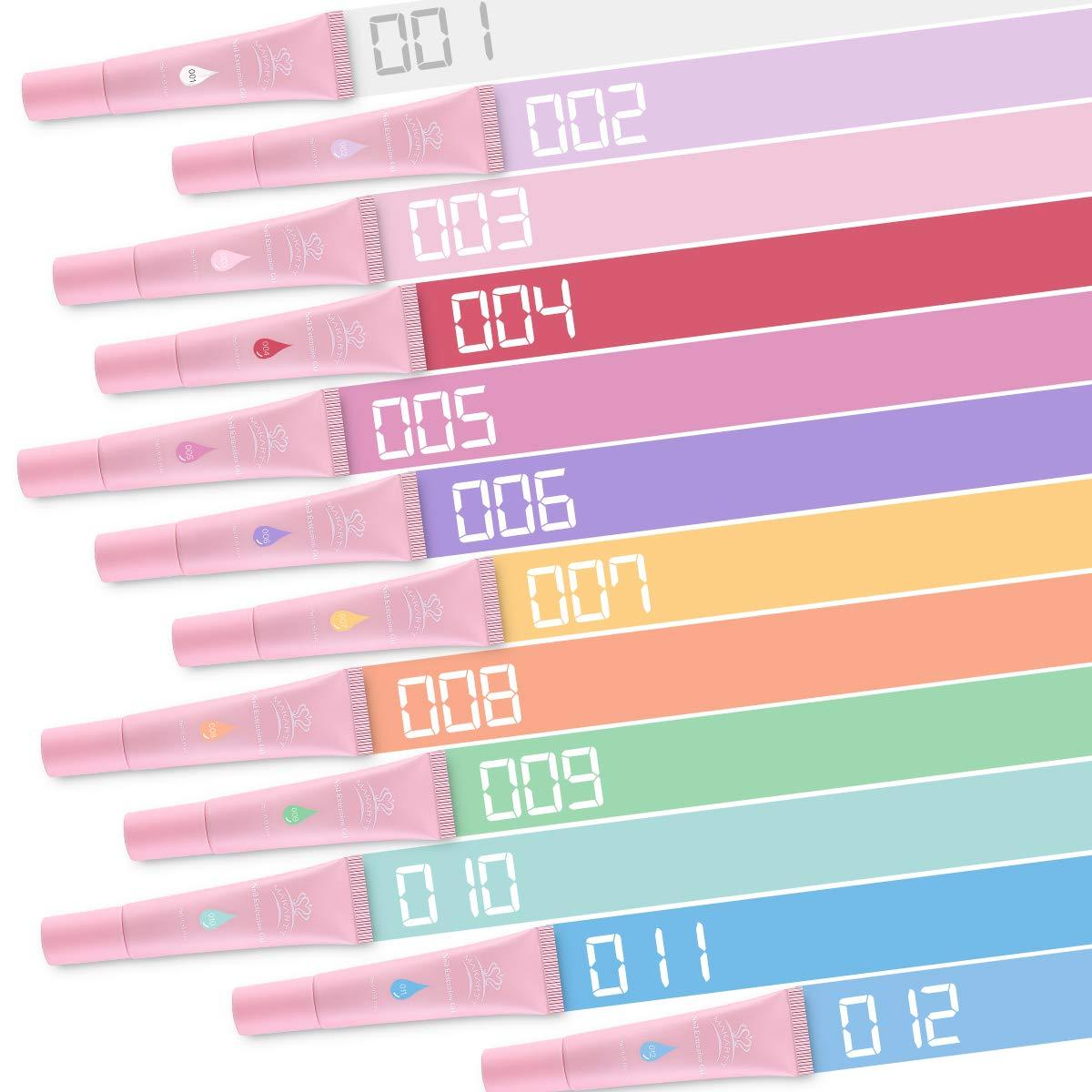 "Cotton-Candy ""Qikgel"" Nail Builder GelKit (12 Colors)"