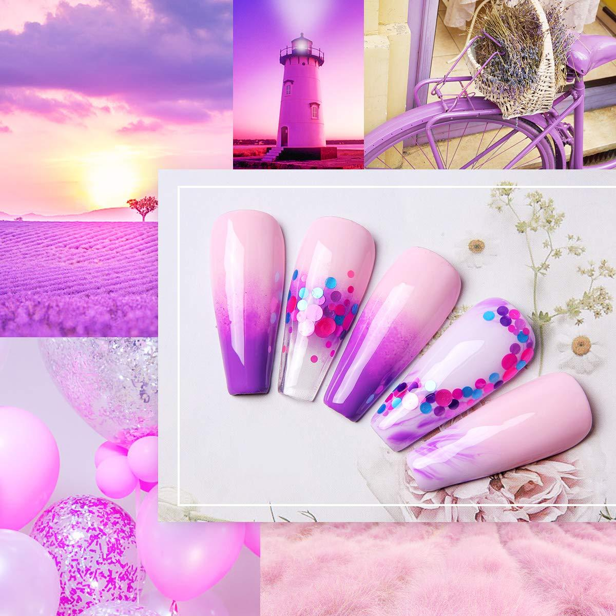 Pastel Neon Gel Polish Collection