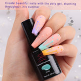 6 Color Pastel Macaron Gel Polish Set