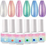 Mermaid Gloss Gel Polish Set