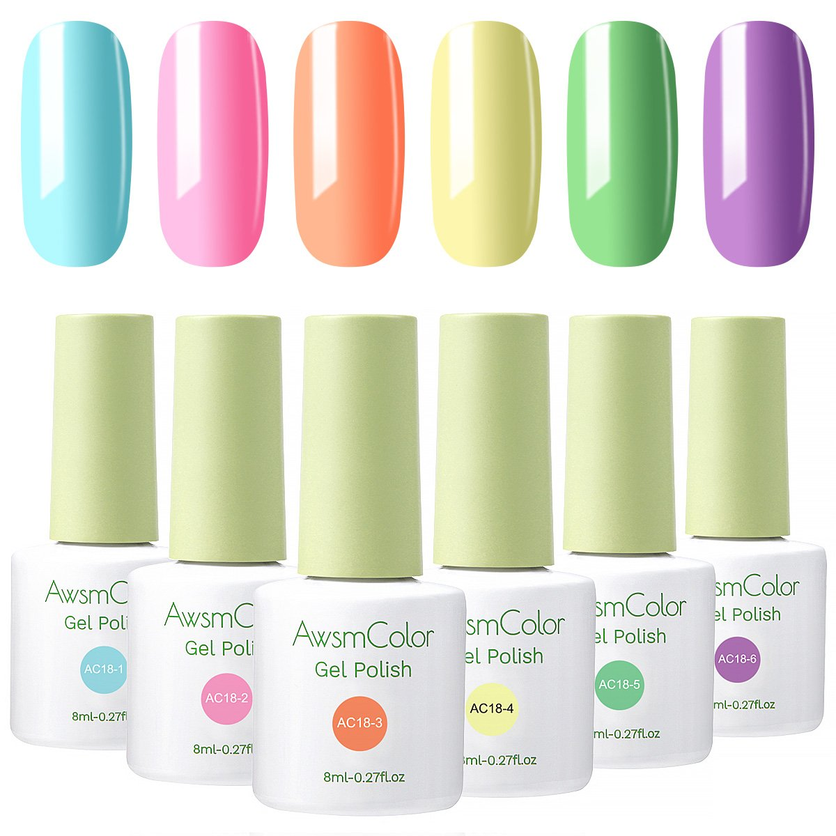 Lovely Dynamic Sweet Candy Series Gel Polish Set