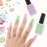 Sweet Cravings 6 Color Gel Nail Polish Set