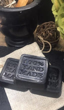 Load image into Gallery viewer, Black Magic | Activated Charcoal Face Soap | New Moon Batch