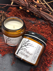unique fall scented candle