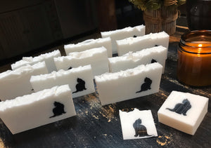 For the Love of Black Cats | Shea Butter Soap | Sea Salt and Sage Fragrance