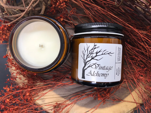 maple apple soy candle
