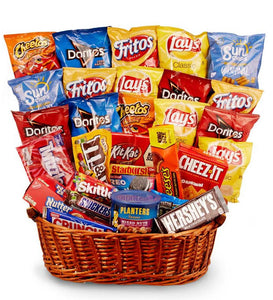 CHIPS AND CANDY BASKET