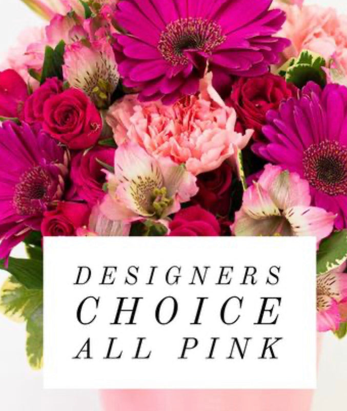 Designer's choice all Pink
