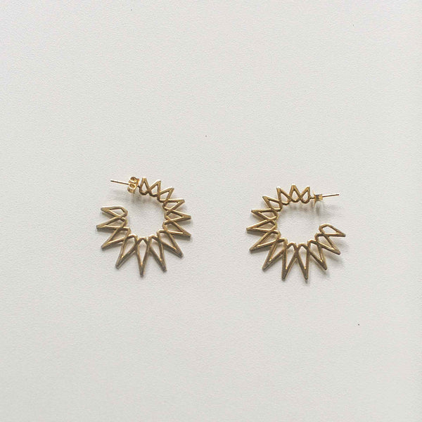 Mithra Sun Earrings - Atelier The Ché