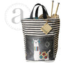 Mamallama Gray Hope Basket
