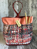 Knit Print Tall Caddy