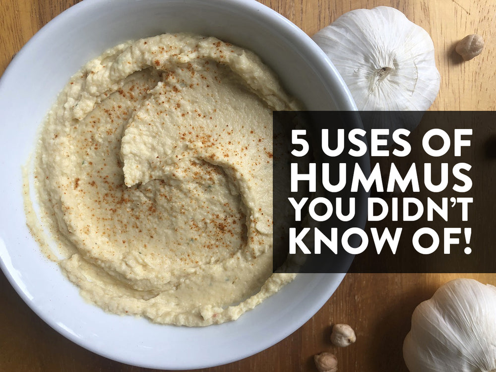 5 Uses of Hummus You Didn't Know Of!
