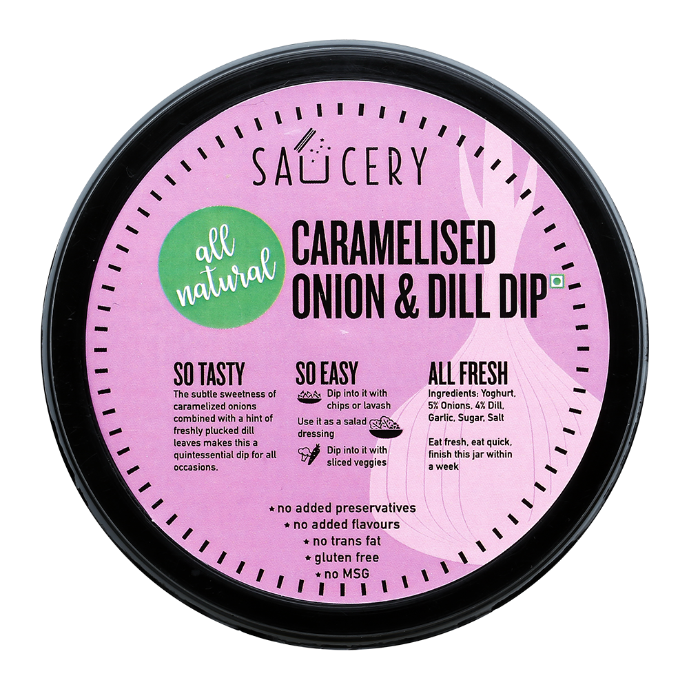 Caramelised Onion & Dill Dip