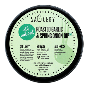 Load image into Gallery viewer, Roasted Garlic & Spring Onion Dip