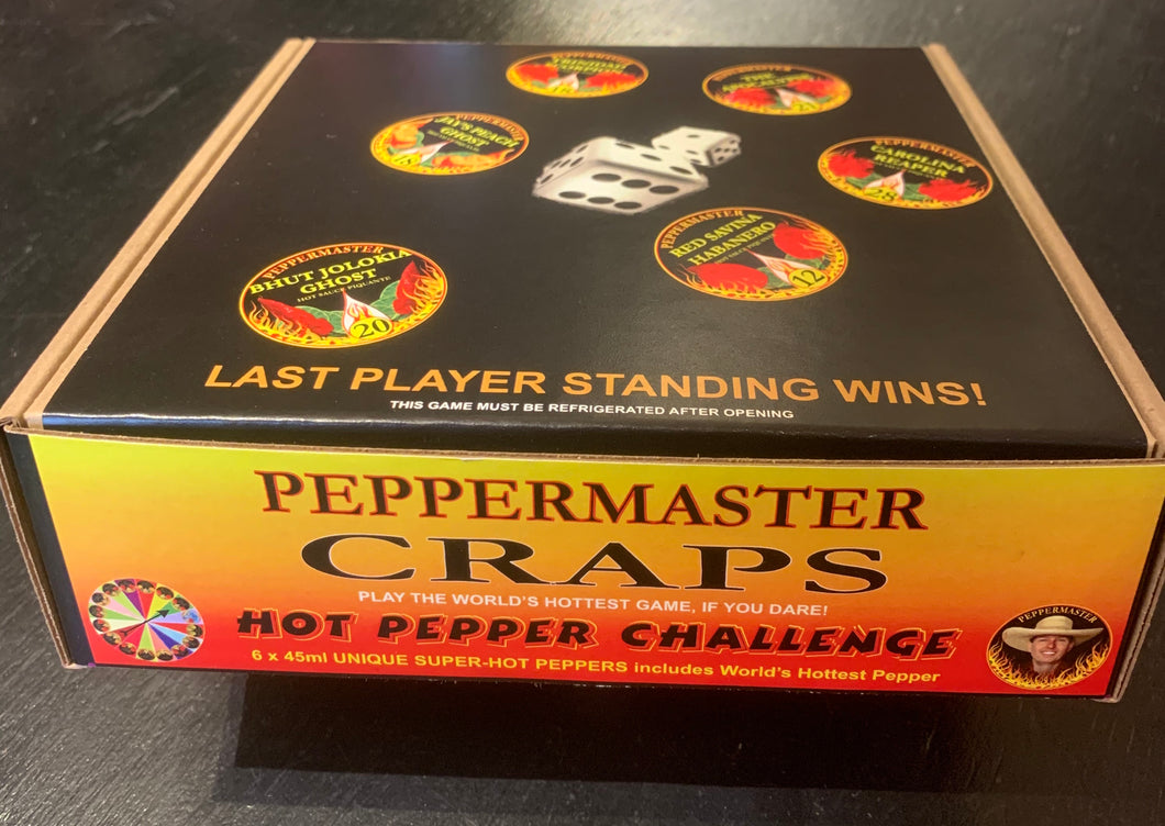 Peppermaster Craps 6x45ml