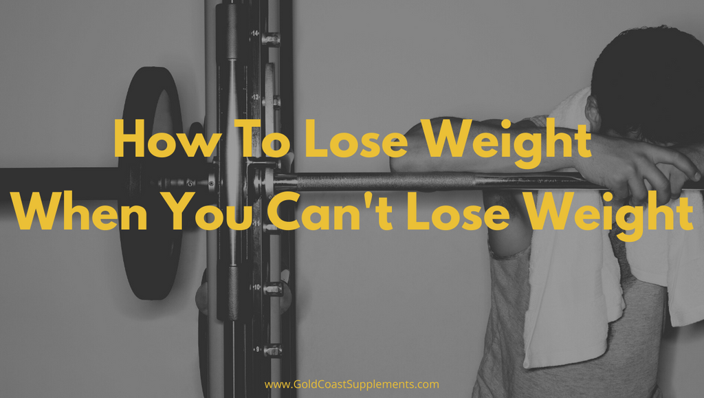 How To Lose Weight When You Can't Lose Weight (BLOG)